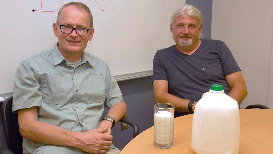 Team earns $1.7M grant to study milk-conveyed molecules
