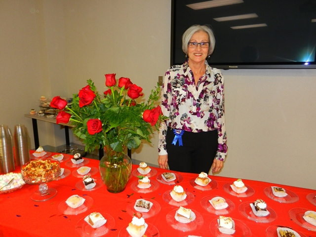 Marilyn Cunnings Retires from the Biochemistry Department