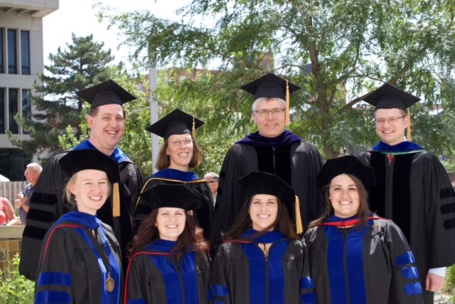 Four BIOC Graduate Students Receive PhD Degrees