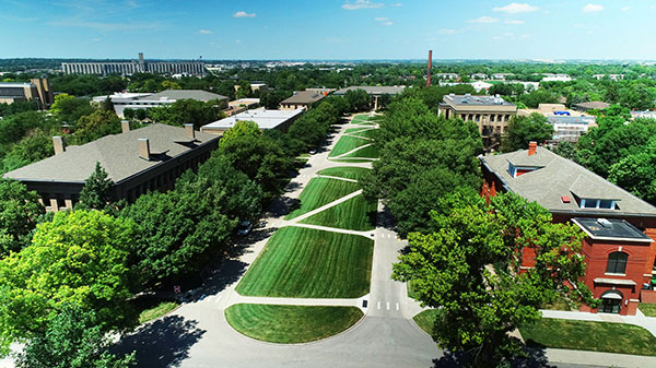 UNL East Campus Mall